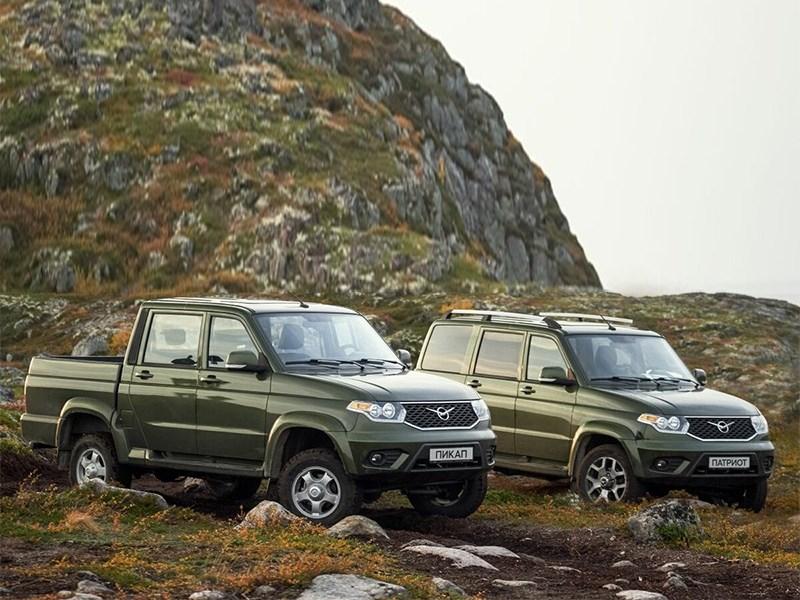В России начались продажи битопливных версий УАЗ Патриот
