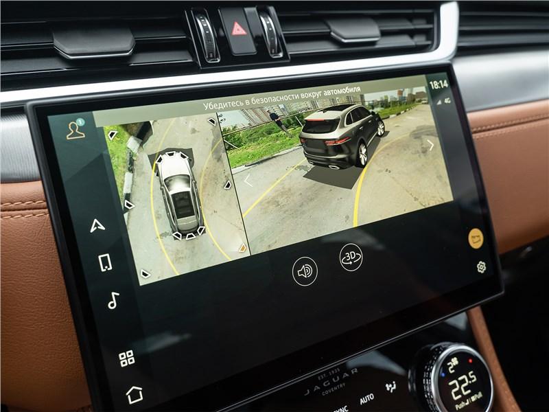 Jaguar F-Pace (2021) монитор
