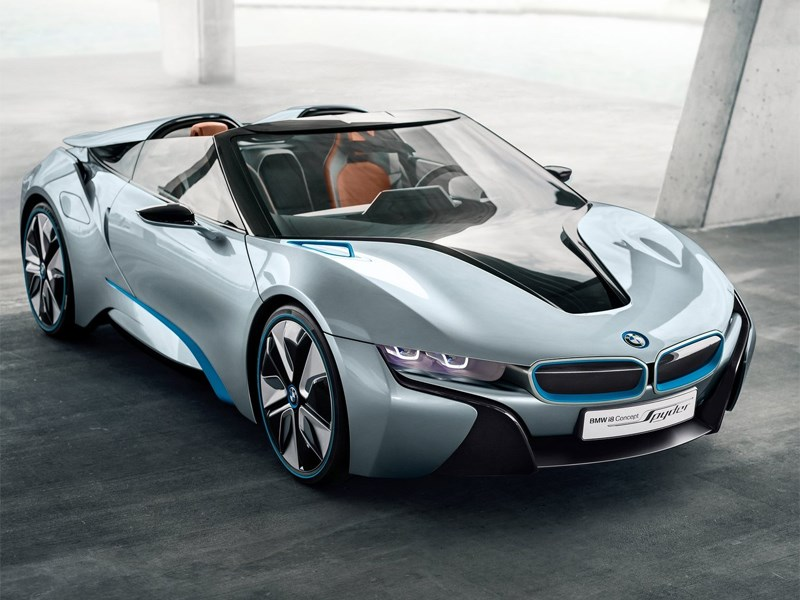 BMW готовится представить серийную версию гибридного спорткара i8