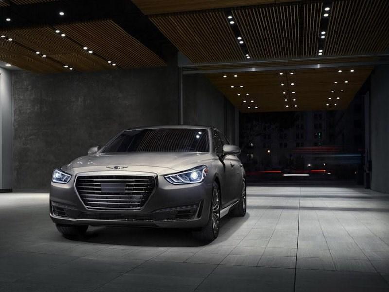 В России началось серийное производство Hyundai Genesis G90