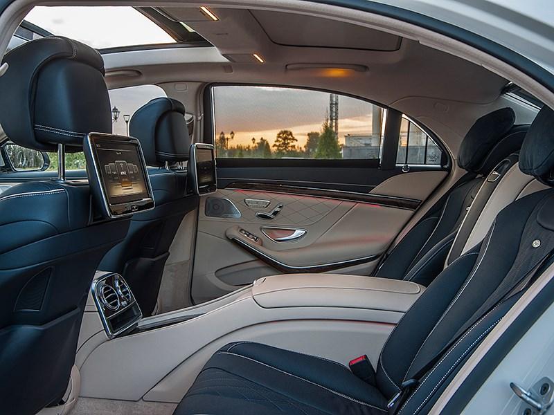 Mercedes-Benz S-Klasse 2013 задние кресла