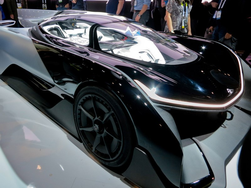 Faraday Future будет тестировать свой «беспилотник» на дорогах общего пользования