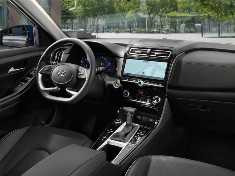 Hyundai Creta (2020) вид спередиHyundai Creta (2020) салон