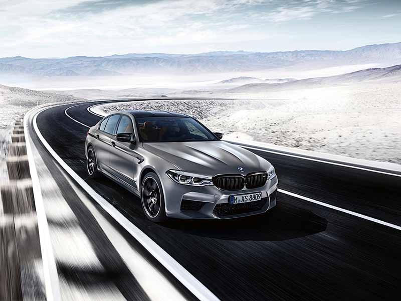 BMW привезет экстремальную М5 в Россию