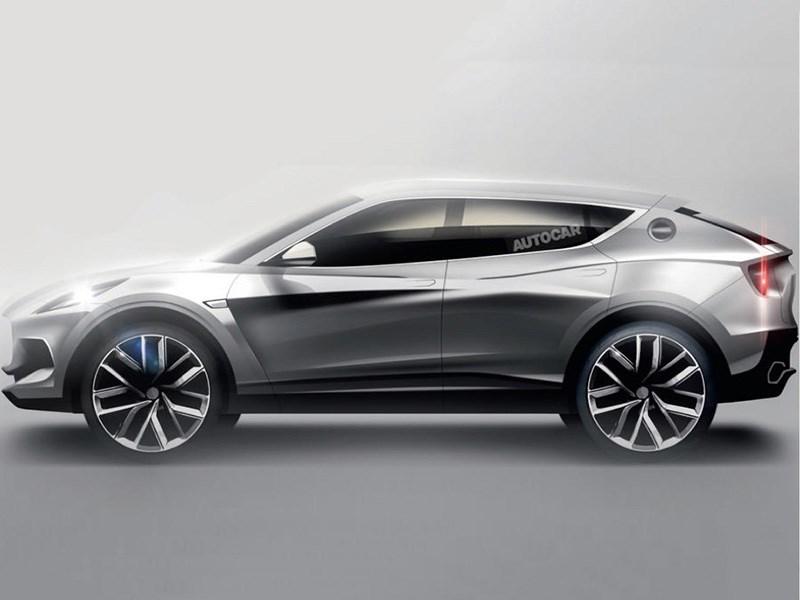 Volvo поделится компонентами для кроссовера Lotus Фото Авто Коломна