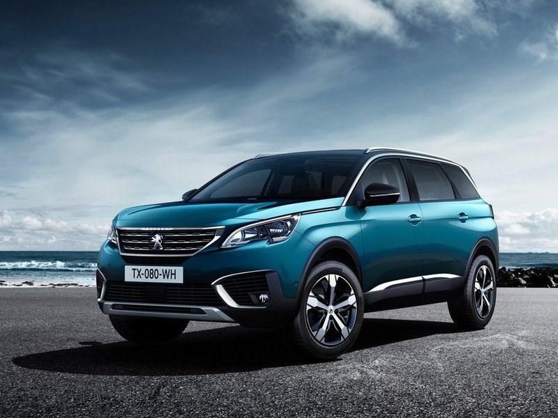 Peugeot рассекретила пятый новый кроссовер за год