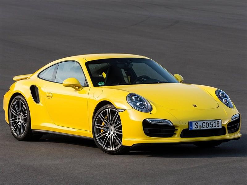 Porsche 911 Turbo 2013 вид спереди