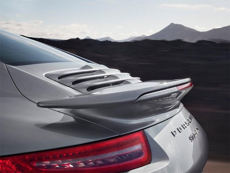 Porsche 911 Turbo S 2013 антикрыло