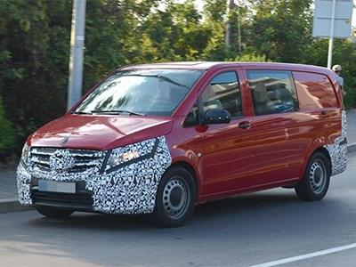 Осенью будет представлен новый Mercedes-Benz Vito