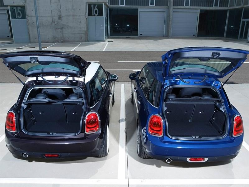 Mini Cooper 5-door 2014 багажное отделение