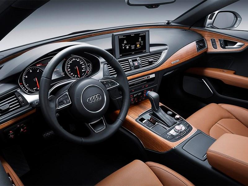 Audi A7 Sportback 2014 интерьер