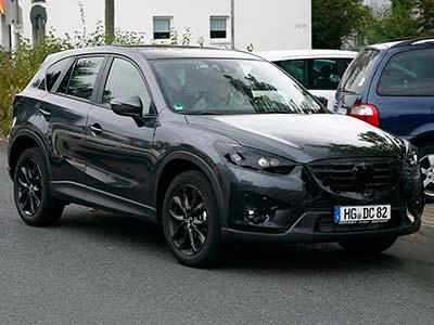 Mazda готовится представить рестайлинговую версию кроссовера CX-5