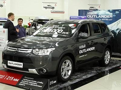 Продажи автомобилей Mitsubishi в России растут