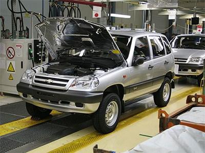 Производство автомобилей Chevrolet Niva сокращается