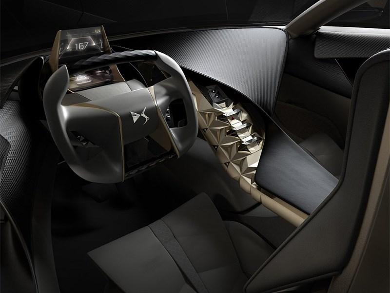 Citroen Divine DS Concept 2014 водительское место
