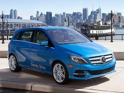 Электрокар Mercedes-Benz B-Class Electric Drive уже доступен для заказа в Германии