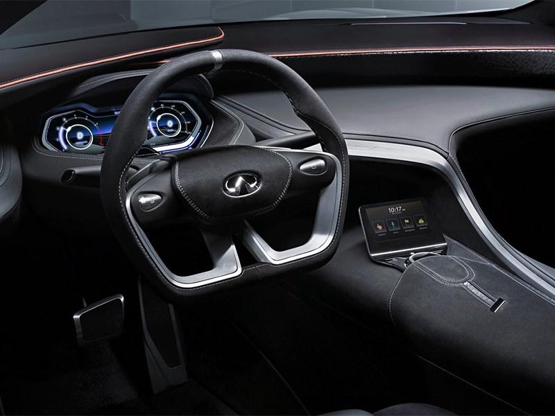 Infiniti Q80 Inspiration concept 2014 водительское место