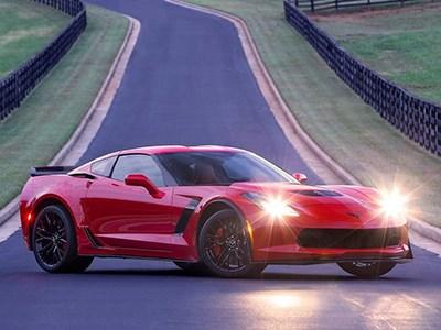 Самый мощный Chevrolet Corvette Z06 появится на европейском рынке весной