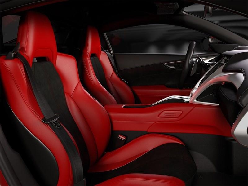 Acura NSX 2015 кресла
