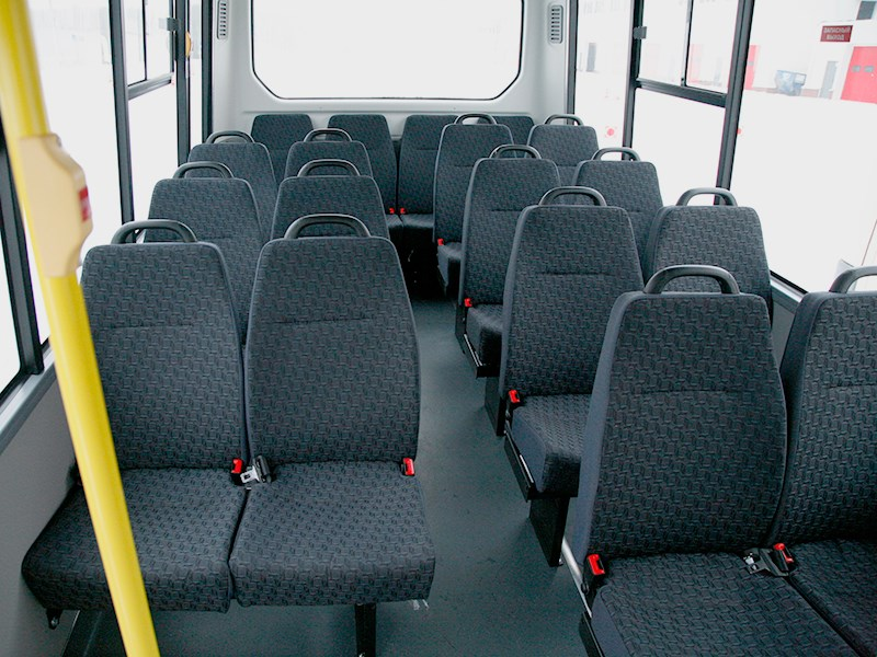 Gazel Next 2014 места для пассажиров
