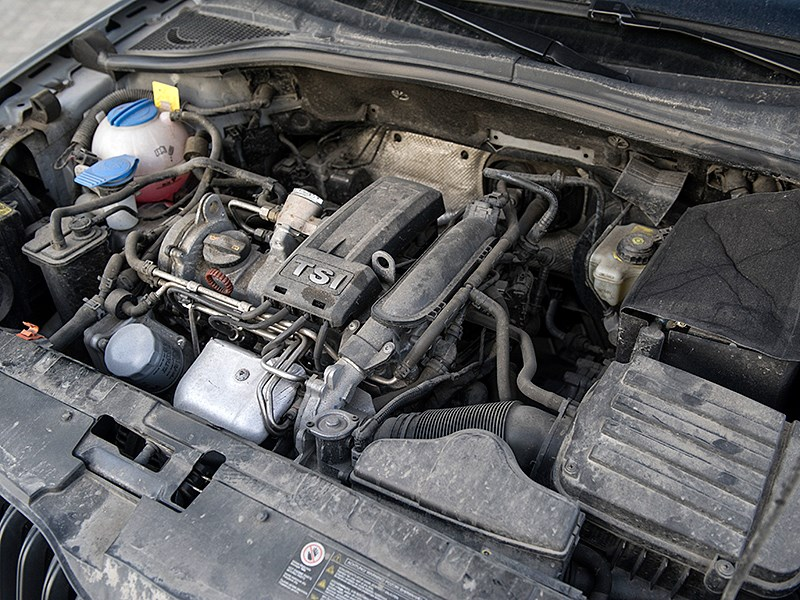 Skoda Yeti 2010 двигатель