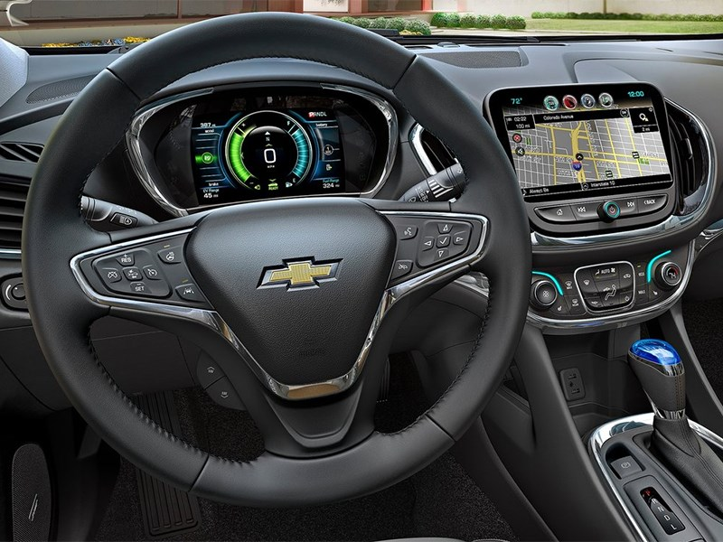 Chevrolet Volt 2016 водительское место
