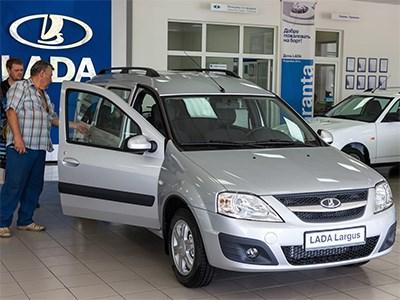 Рейтинг регионов по продажам автомобилей Lada