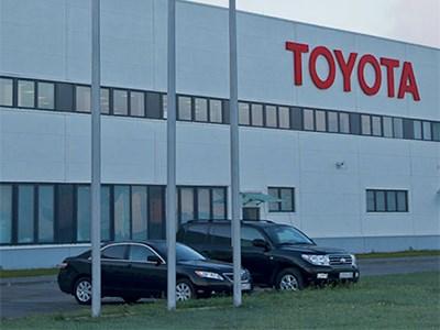 Toyota планирует наращивать локальное производство своих автомобилей в РФ