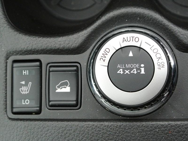 Nissan X-Trail 2014 переключение режимов трансмиссии