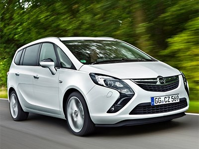 В 2016 году Opel представит новое поколение кроссовера Zafira