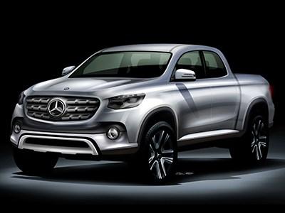 В модельном ряду Mercedes-Benz появится автомобиль в кузове пикап