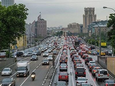 Москва покинула тройку городов с самыми большими пробками
