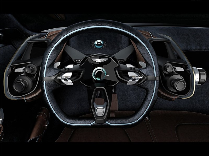 Aston Martin DBX Concept 2015 руль