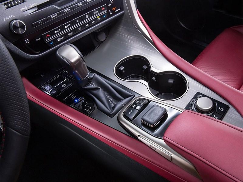 Lexus RX 350 F Sport 2016 центральный тонель