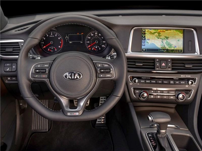 Kia Optima 2016 водительское место
