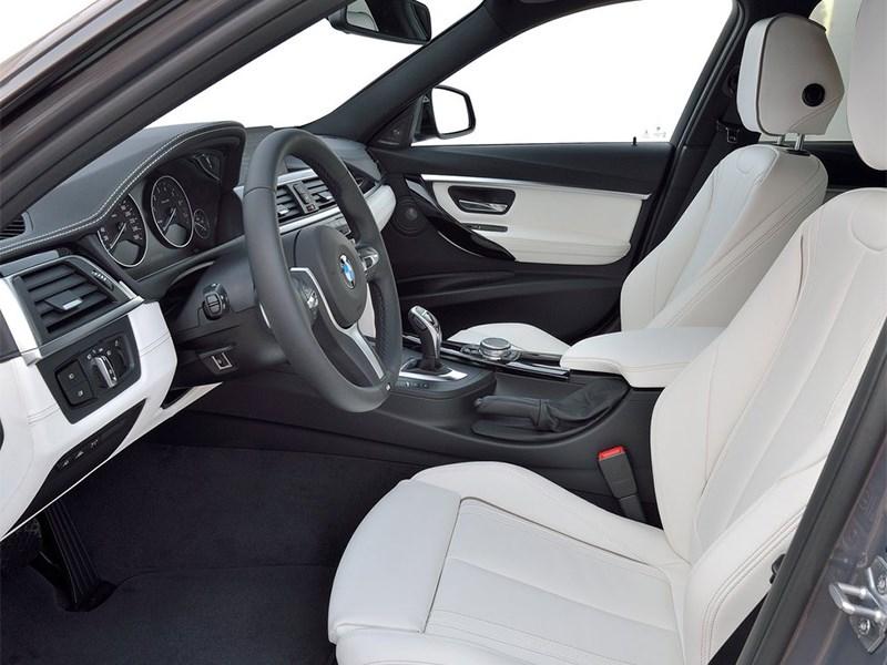 BMW 3 series 2016 передние кресла