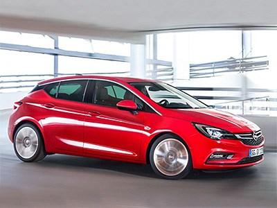 Появились первые официальные изображения Opel Astra 2016 модельного года