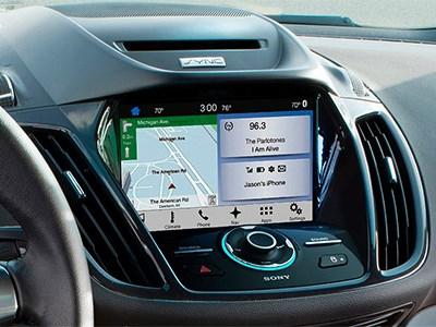 Ford оснастит хэтчбек Fiesta и внедорожник Escape новой мультимедийной системой
