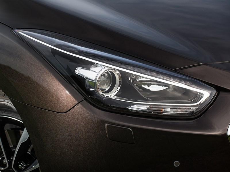 Hyundai i40 2015 передняя фара