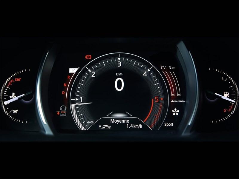 Renault Talisman 2016 приборная панель