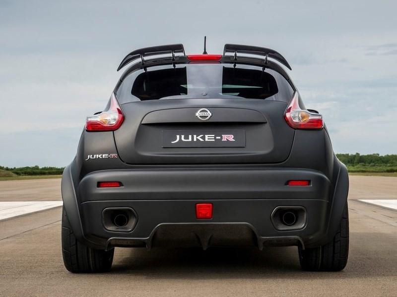 Nissan Juke-R Concept 2015 вид сбоку сзади 2