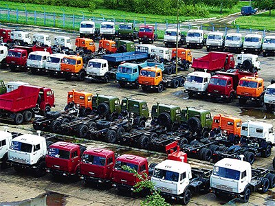В августе сегмент грузовых автомобилей сократился на 45 процентов