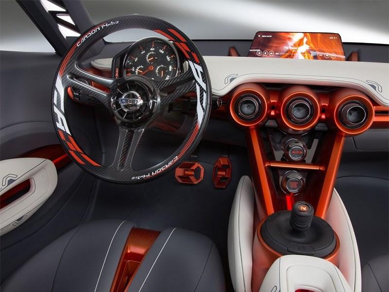 Nissan Gripz Concept 2015 водительское место