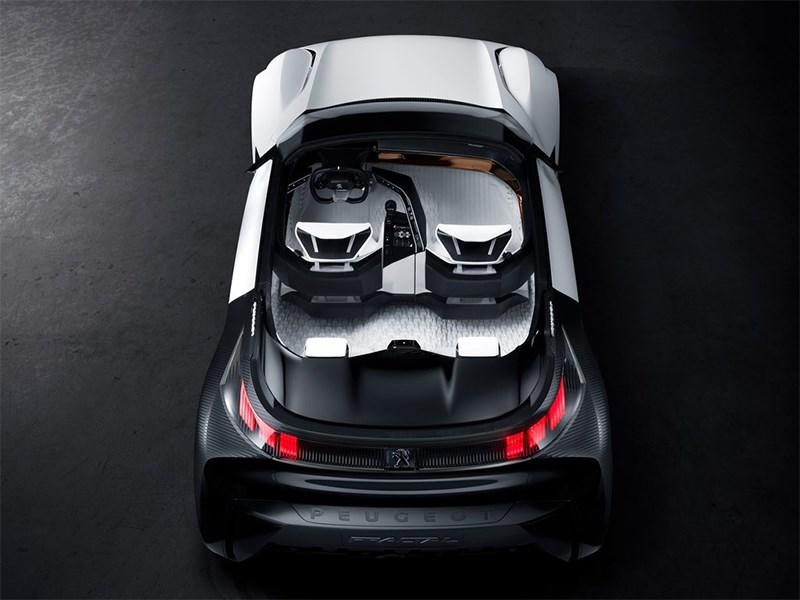Peugeot Fractal Concept 2015 салон 2