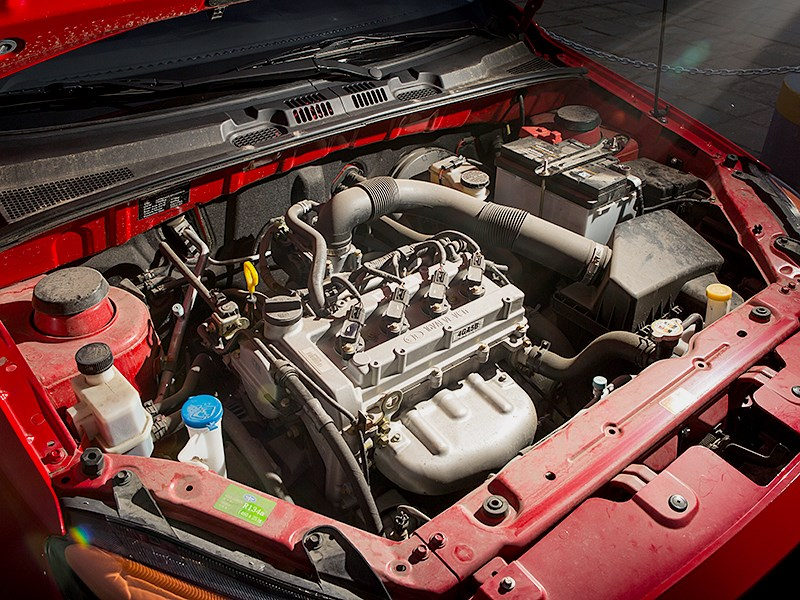 FAW Oley 2014 двигатель