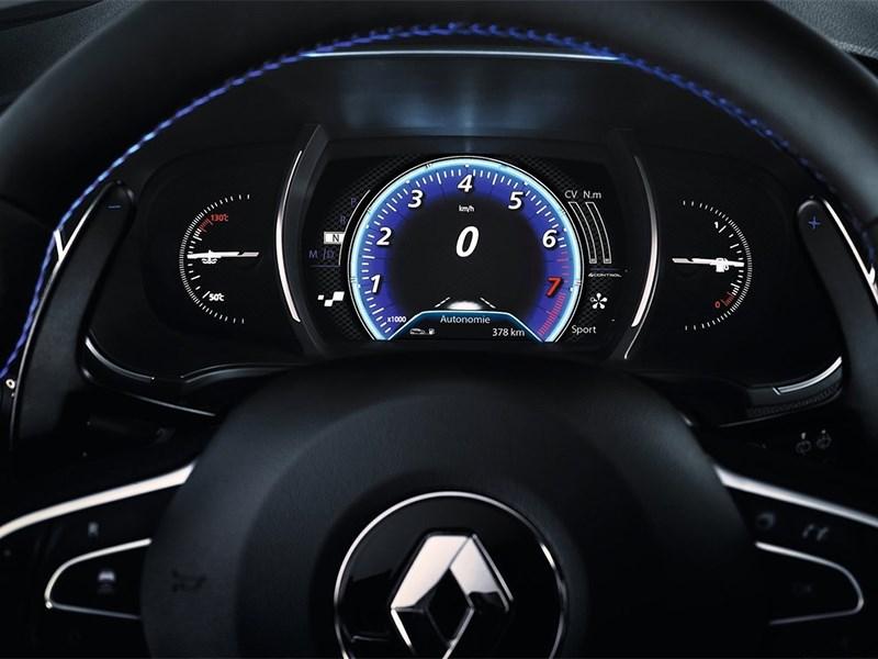 Renault Megane 2016 приборная панель