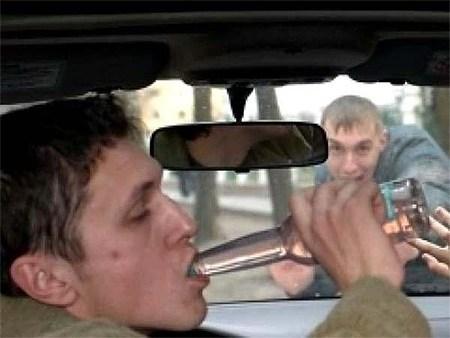 Пьяных водителей будут метить