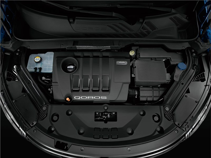 Qoros 5 2016 двигатель