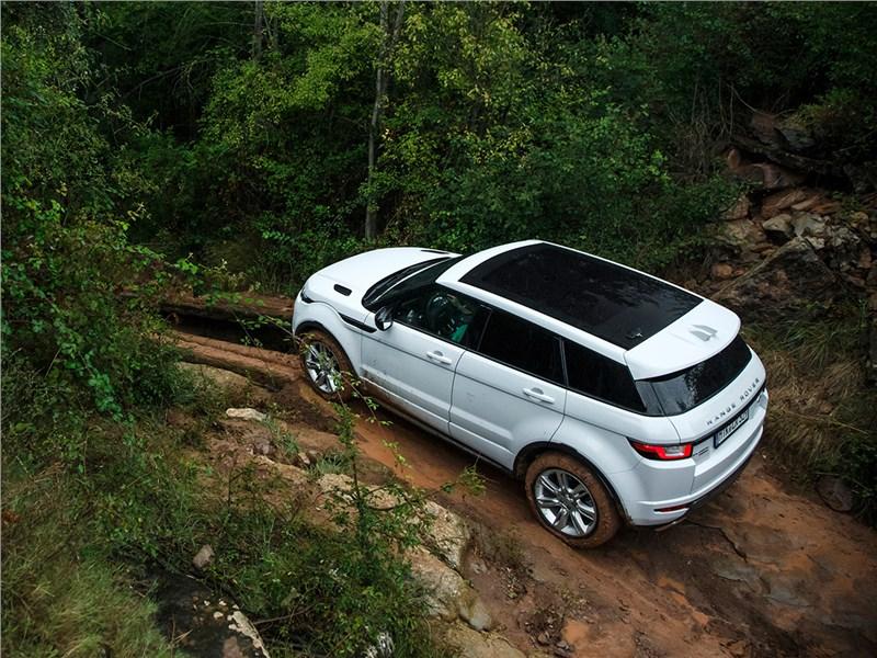 Land Rover Range Rover Evoque 2016 вид сверху