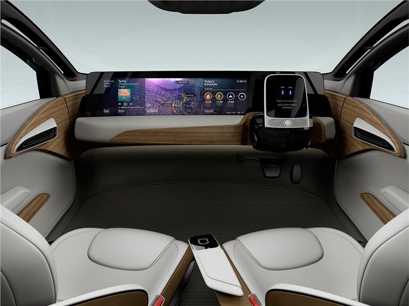 Nissan IDS concept 2015 передняя панель